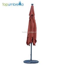 Melhor qualidade com guarda-chuva de LED para plantas de viagem guarda-chuva guarda-chuva jardim ao ar livre