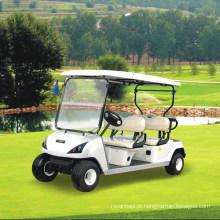 Carro elétrico habilitado da roda de quatro assentos do ce 4 para o campo de golfe Dg-C4