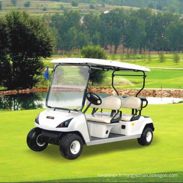 CE a approuvé 4 voiturettes de golf de voiture de club de Seater dans le Guangdong (DG-C4)