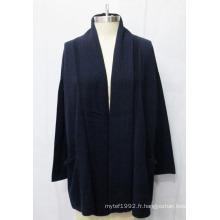 Sweat Cardigan en cachemire en laine à la mode femme