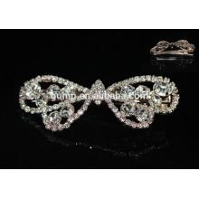 Estilo coreano arco de las niñas de moda strass hairgrip cristal rhinestone accesorio de pelo
