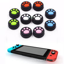 Silicone Thumb Grip Stick Caps for Nintendo Switch Joy-Con NS NX Controller Cat Paw Joystick Caps 5 Color Game accessories