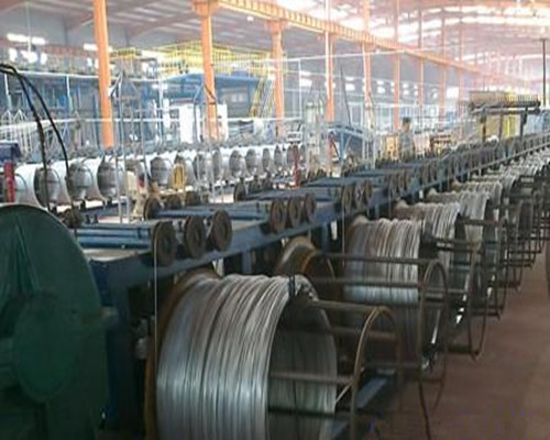 galvanized wire production 1