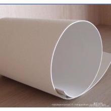 Membrane de toit imperméable blanche chaude de Tpo appliquée