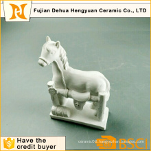 DIY Toy Paintable White Gypsum Horse Craft for Desktop Gift