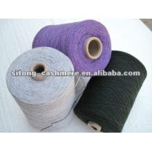 Fio misturado de lã de caxemira para tricô