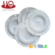 Selos de borracha de PTFE Diafragma para o controle pneumático da máquina da bomba de diafragmas do teflon