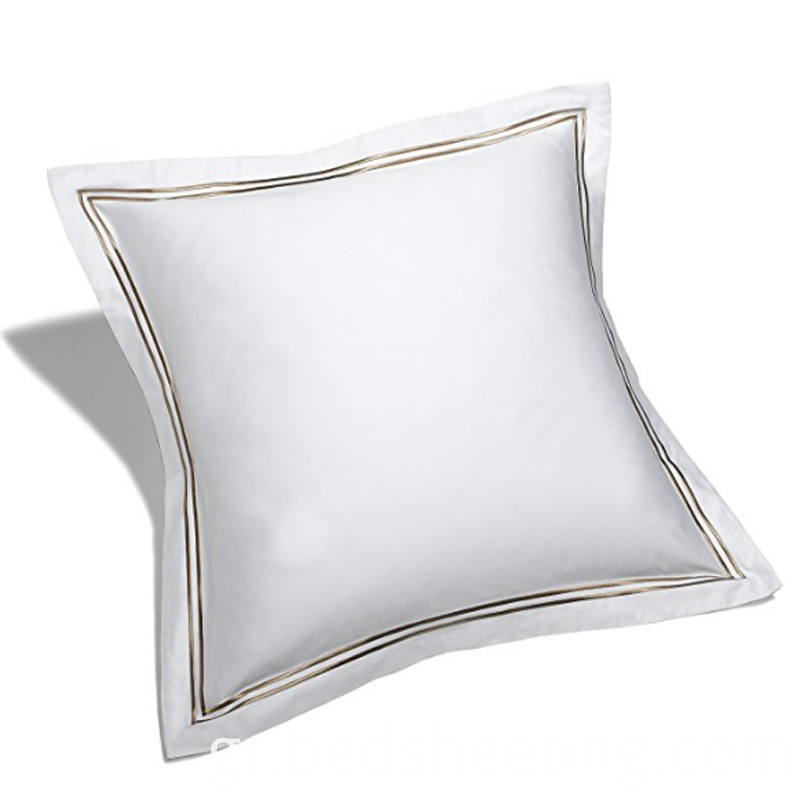Cotton Sateen Square Pillow Covers