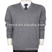 13STC5522 man V-neck cashmere pullover sweater