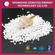 3mm, boule d'alumine de pureté de 92% usded en usine de matière réfractaire