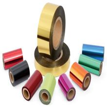 Impressão de embalagem BOPET Hot Stamping Filme base de folha