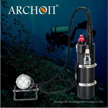 Archon 4000lm CREE Xml2 -U2 LED * 4PCS Antorchas recargables del buceo del envase