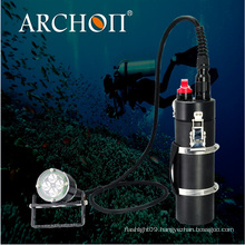 40watts LED Strong Diving Torches with Battery Volume Indicator