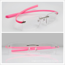 Rimless Eyeglasses /Dropshipping/ High Quality Eye Glasses (T7209)
