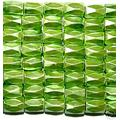 Pea Green Hematite 18 Faded Tube Beads 5X8MM Grado AB