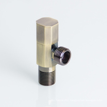 1/2 3/4 Inch Toilet Bronze 90 Degree Two-Way Brass Angle Stop Cock Valve