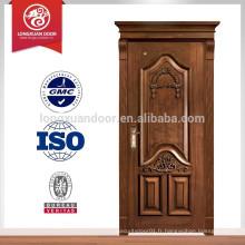 Meilleure vente en bois de conception de porte principale