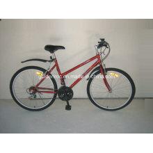 """Bicicleta de montaña con marco de acero de 26 """"(ML2602)"""