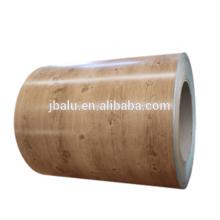 Qualidade superior 1100 1200 8011 5005 cor bobina de alumínio revestida para decoração