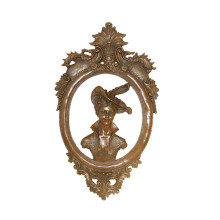 Relief Brass Statue Senhora Relievo Deco Bronze Sculpture Tpy-967 / 969