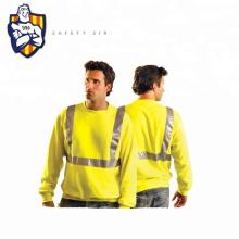 Reasonable Price Reflective Hi Vis fr Long Sleeve shirts with reflective Work t Shirt
