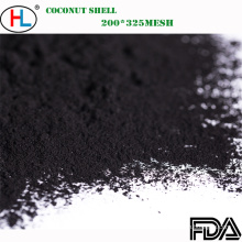 Pó de bambu do carvão vegetal do produto comestível para bebidas / aditivo das bebidas