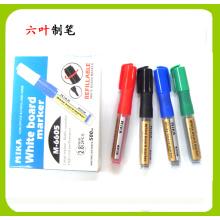 Ungiftiger nachfüllbarer Tinten-Whiteboard-Markierungsstift (6605), Briefpapier-Stift