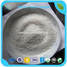 Alumine fondue blanche pour abrasif et réfractaire