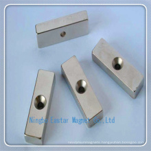 N42h Permanent Neodymium Bar Magnet for Pump Motor
