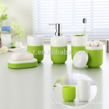 Keramik-Bad-Sets mit rutschfester Silikonbasis