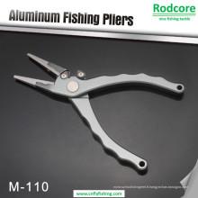 Pince à pêche en aluminium usinée CNC