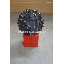Full cover roller cone carbide insert cutters