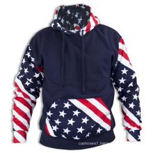 Men′s Winter Hoodie Warm Hooded Sweatshirt Coat Jacket