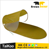 Pop up beach sun tent with UV resistance on promotion
