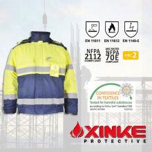 Соотвествуя en471 высокая ВИС фр куртка для сварки работников