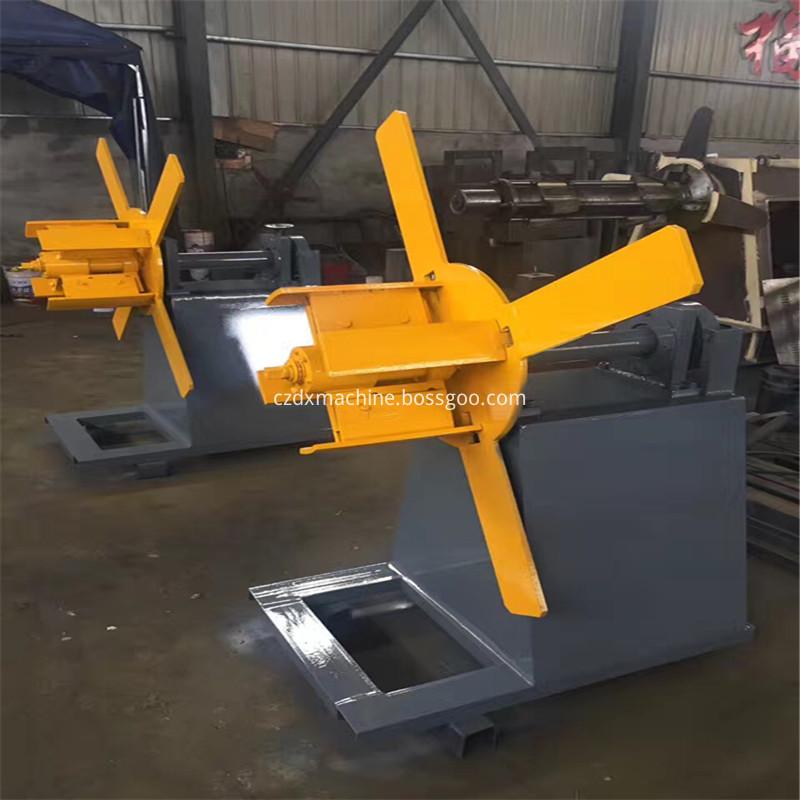 hydraulic uncoiler