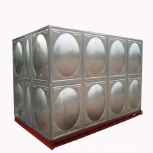 réservoirs de stockage industriels en acier inoxydable systèmes de traitement des eaux usées