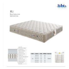 Pole Water Cooled Compressed Hotel Mattress