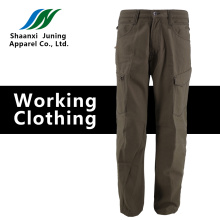 Men's Close Fitting Long Trousers