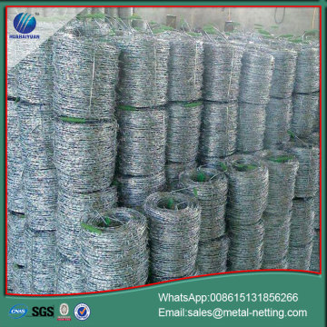 galvanized barb wire coil 2.5*2.0mm barbed wire