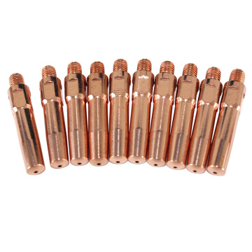 Co2 mig copper welding contact tip for welding torch