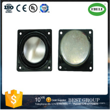 Altofalante quadrado do cone de 2watt micro Mylar com monitor do LCD
