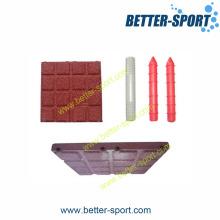 Резиновая плитка / блокировочный павер / резиновый павер