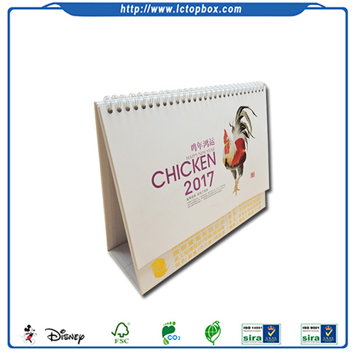 2018 Table Desk Chinese Calendar Printing