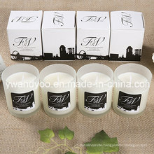 Promotional Scented Soy Mini Glass Candle
