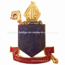 Customized Big Badge & Gold Plating Medal