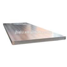 Prix usine isolé de la plaque d'aluminium anti-corrosive