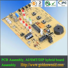audio amplifier pcb assembly Cost effective multilayer PCB board for smart ammeter