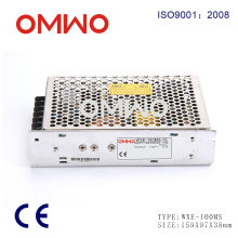 Wxe-100ms-24 110VAC para 24VDC 4.2A 100W Mini LED Driver SMPS