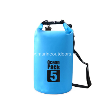 Fashion Outdoor Custom Logo Camping Hiking Waterproof 5L Dry Bag